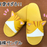 3D猫耳サンダル